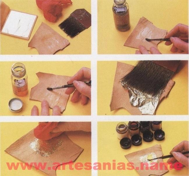 aplicacion del pan de oro