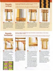 Rayado vertical y horizontal