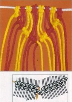 nudo de macrame 10