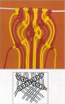 nudo de macrame 9