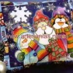 Como pintar un almohadón navideño